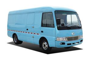 晶马福运JMV5043厢式运输车