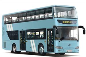 金龙XMQ6111双层公交车