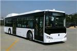 广西申龙HQK6129CHEVNG插电式公交车(天然气/电混动国五19-45座)