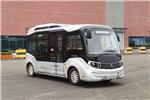 广西申龙HQK6602UFBEVP1公交车(纯电动10-11座)