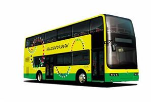 金旅XML6116双层公交车