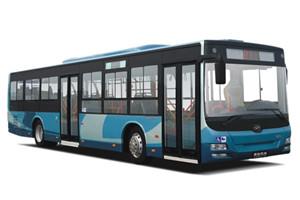黄海DD6129公交车