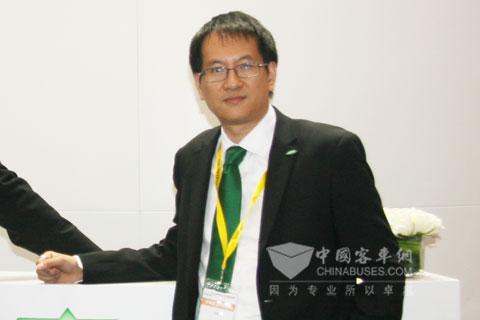 比泽尔制冷技术(中国)有限公司销售与市场总经理冯飚