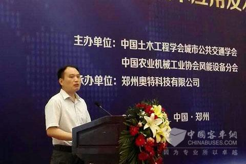 宇通客车股份有限公司高级工程师吴传旺